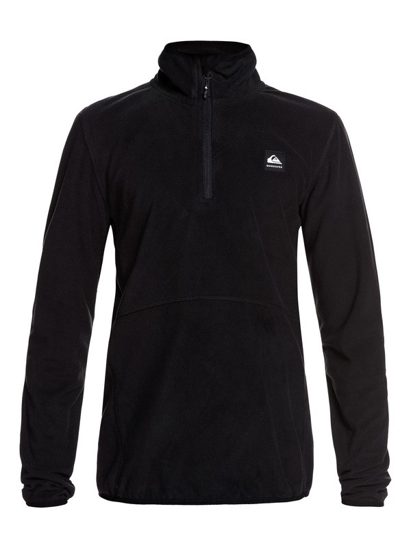 0 Aker Half-Zip Technical Fleece Black EQBFT03513 Quiksilver