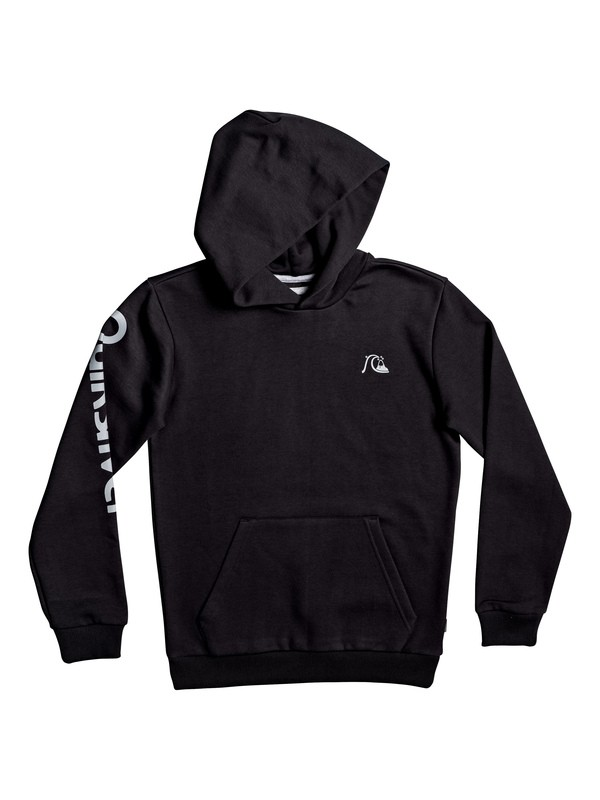 0 Boy's 8-16 Flanklin Sunset Hoodie Black EQBFT03553 Quiksilver