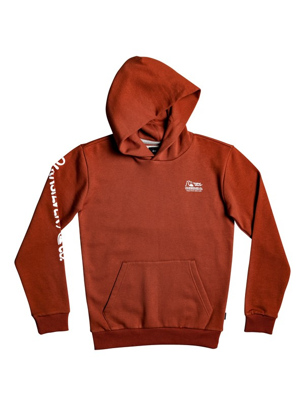 0 Flanklin Sunset - Sudadera con Capucha para Chicos 8-16 Rosa EQBFT03553 Quiksilver