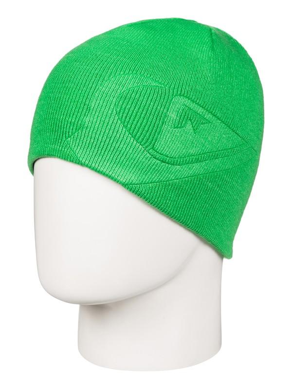 0 M&W - Bonnet réversible pour Garçon 8-16 ans Vert EQBHA03017 Quiksilver