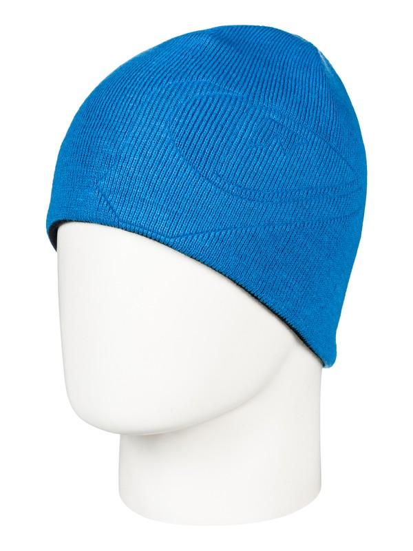 0 M&W - Beanie für Jungen 8-16 Blau EQBHA03032 Quiksilver