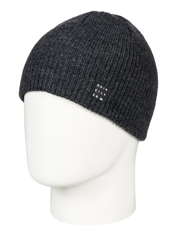 0 Silas - Beanie for Boys 8-16 Black EQBHA03034 Quiksilver