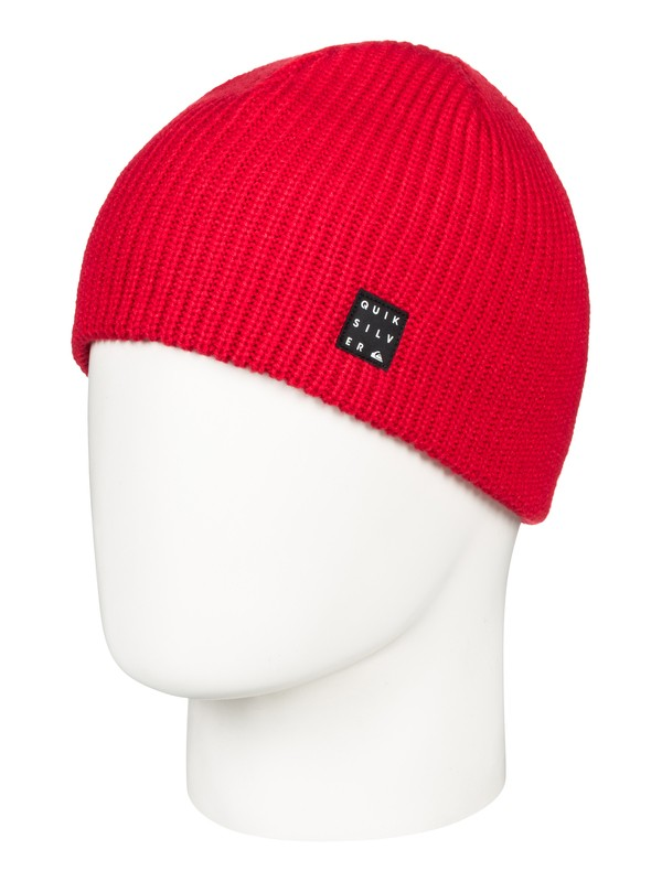 0 Silas - Beanie for Boys 8-16 Red EQBHA03034 Quiksilver