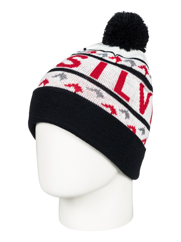0 Summit - Beanie for Boys 8-16 White EQBHA03036 Quiksilver