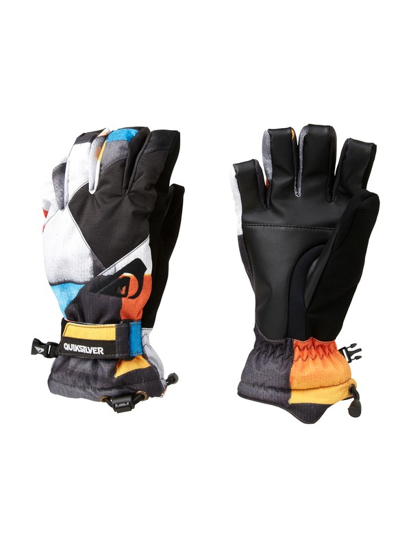 0 METEOR YOUTH GLOVES AOP REDEMP  EQBHN00007 Quiksilver