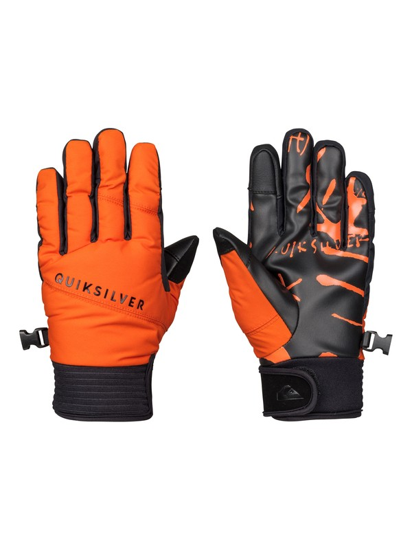 0 Method - Gants de pipe Orange EQBHN03010 Quiksilver