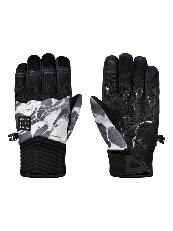 0 Boy's 8-16 Method Snowboard/Ski Gloves White EQBHN03022 Quiksilver