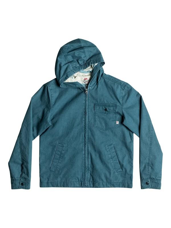 0 Куртка с капюшоном Maxson Shore Синий EQBJK03116 Quiksilver