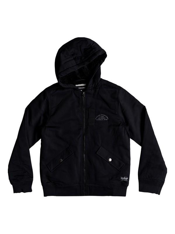 0 Hana Go - Water-Resistant Hooded Jacket for Boys 8-16 Black EQBJK03155 Quiksilver