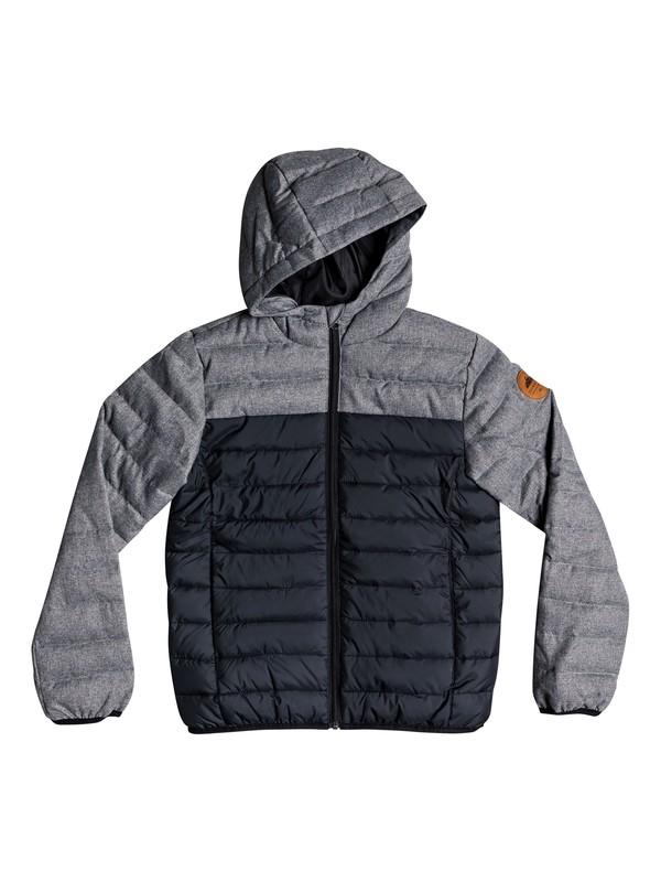 0 Scaly Mix - Veste chaude à capuche déperlante pour Garçon 8-16 ans Noir EQBJK03156 Quiksilver