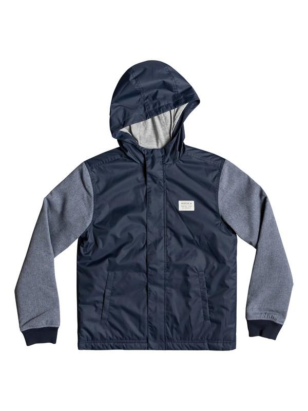 0 Vagabond Heart - Veste à capuche pour garçon 8-16 ans Bleu EQBJK03170 Quiksilver