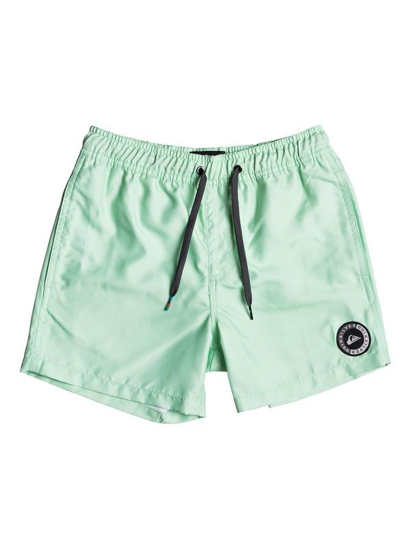 "0 Everyday 13"" - Swim Shorts for Boys 8-16 Green EQBJV03141 Quiksilver"