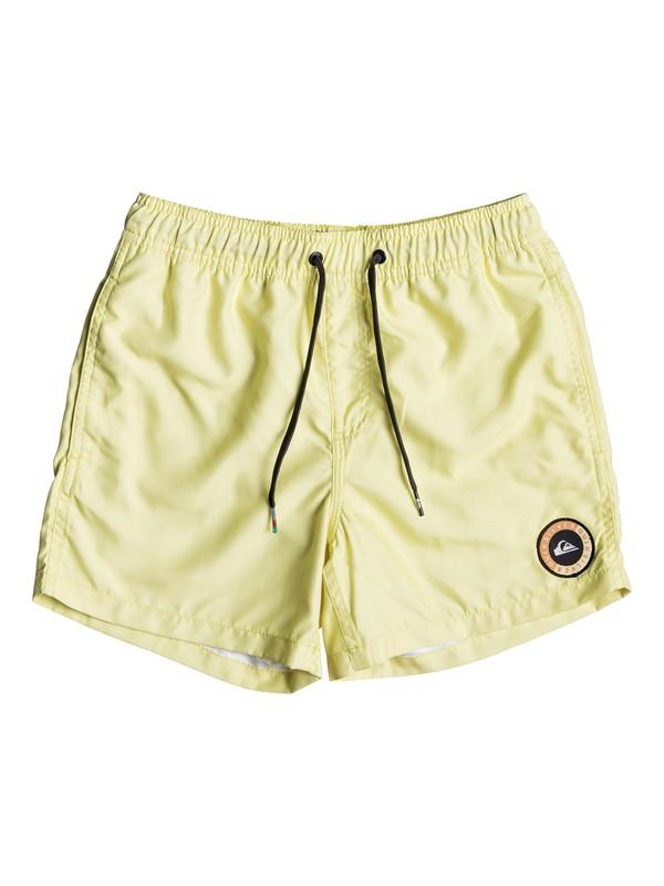 "0 Everyday 13"" - Swim Shorts for Boys 8-16 Yellow EQBJV03141 Quiksilver"