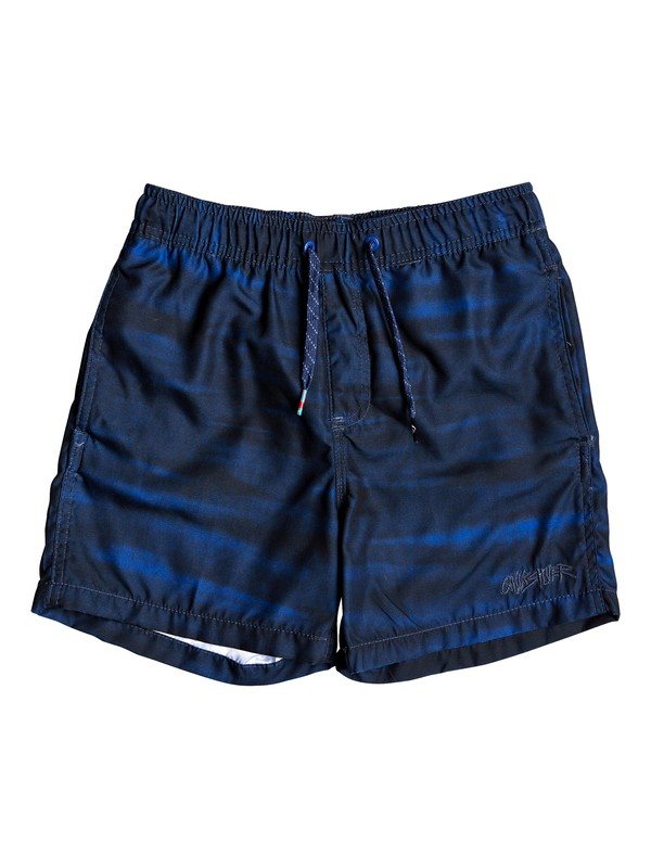 "0 Acid 14"" - Swim Shorts for Boys 8-16 Purple EQBJV03193 Quiksilver"