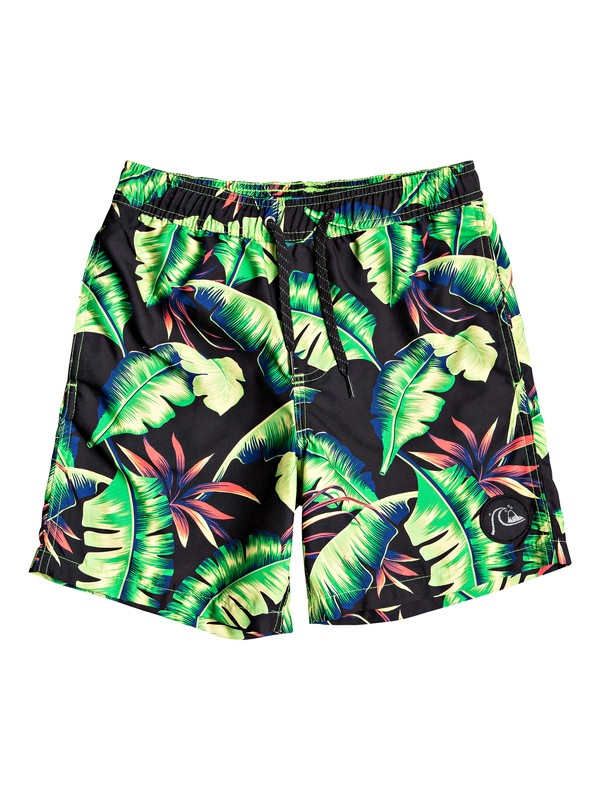 "0 Poolsider 15"" - Swim Shorts for Boys 8-16 Green EQBJV03194 Quiksilver"