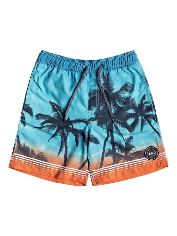 "0 Paradise 15"" - Swim Shorts for Boys 8-16 Blue EQBJV03196 Quiksilver"