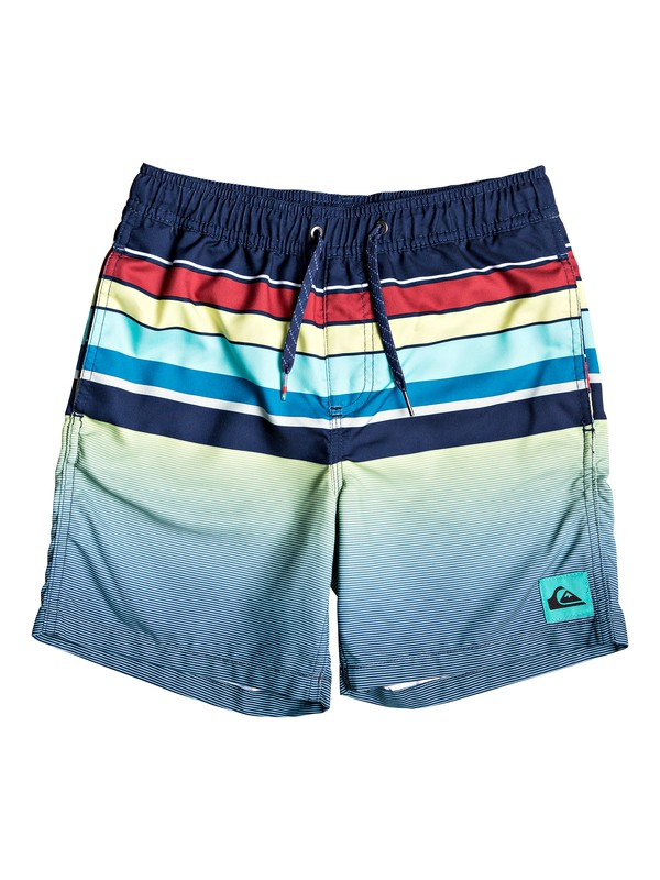 "0 Sets Coming 15"" - Swim Shorts for Boys 8-16 Blue EQBJV03212 Quiksilver"