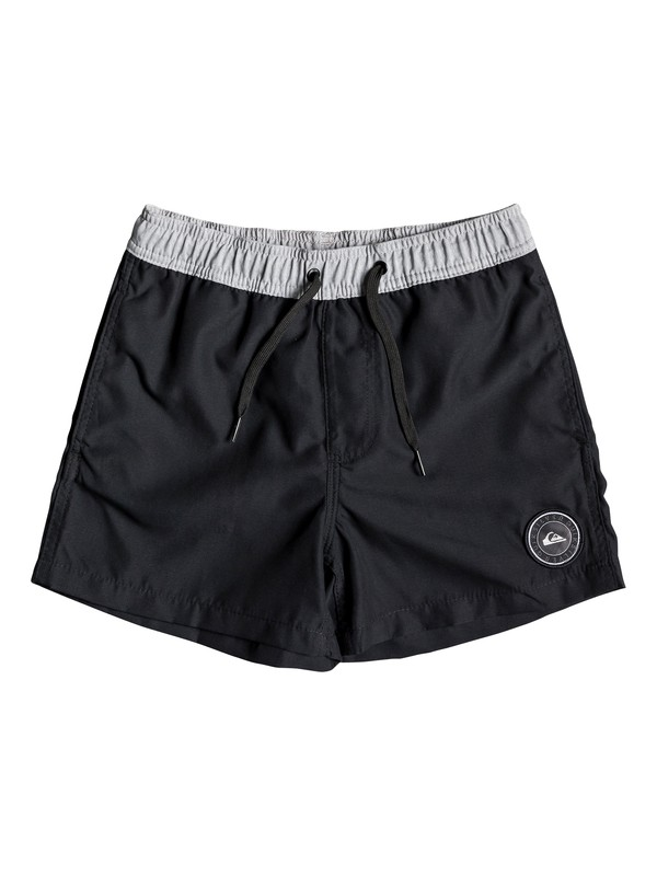 "0 Glitch 13"" - Swim Shorts for Boys 8-16 Black EQBJV03213 Quiksilver"