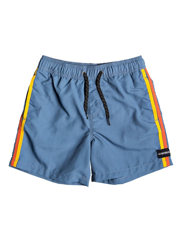 "0 Vibes 14"" - Swim Shorts for Boys 8-16 Blue EQBJV03214 Quiksilver"