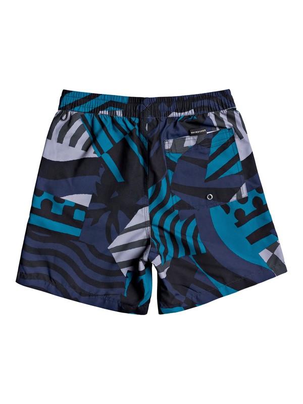 "Neo Geo 14"" - Swim Shorts for Boys 8-16  EQBJV03303"