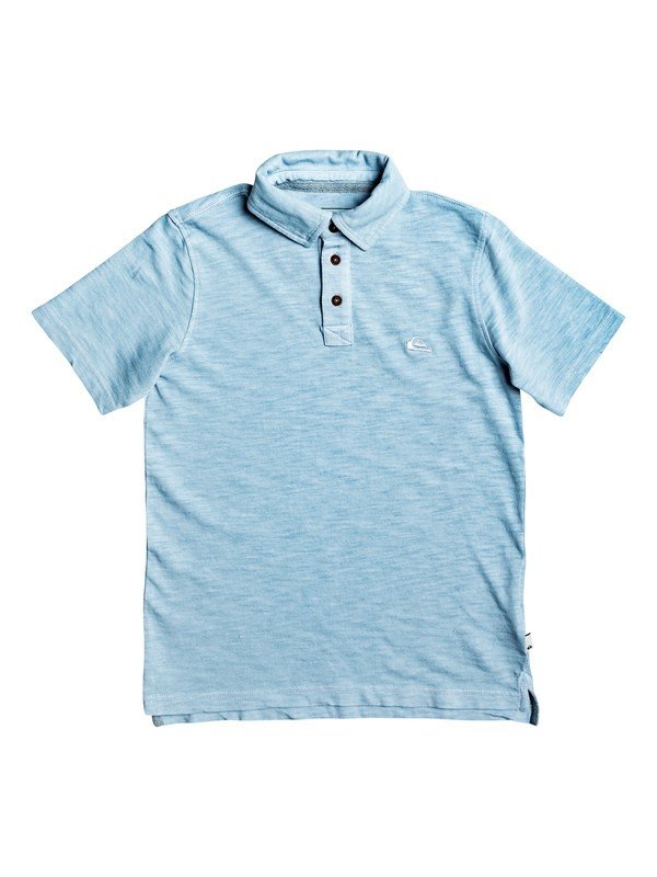 0 Boy's 8-16 Everyday Sun Cruise Short Sleeve Polo Shirt Blue EQBKT03170 Quiksilver