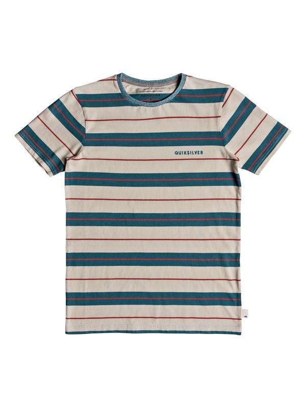 0 Dera Steps - T-shirt col rond pour Garçon 8-16 ans Bleu EQBKT03184 Quiksilver