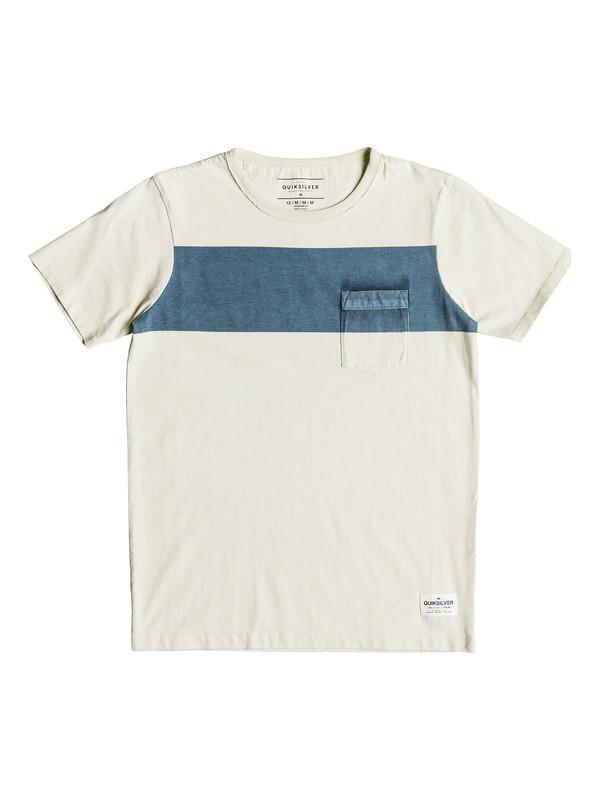 0 Sobu Lines - T-Shirt for Boys 8-16 Blue EQBKT03187 Quiksilver