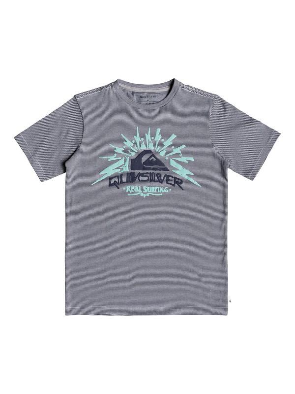 0 Burning Chaos - T-shirt pour garçon 8-16 ans Bleu EQBKT03210 Quiksilver