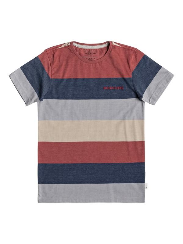 0 Unsung Heros - T-shirt pour garçon 8-16 ans Rouge EQBKT03211 Quiksilver