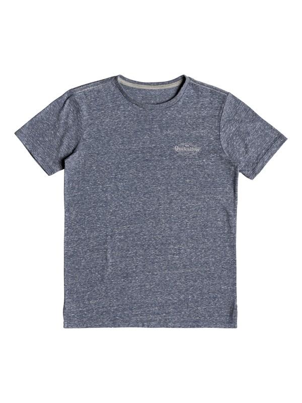 0 Broken Fine - T-Shirt for Boys 8-16 Blue EQBKT03216 Quiksilver