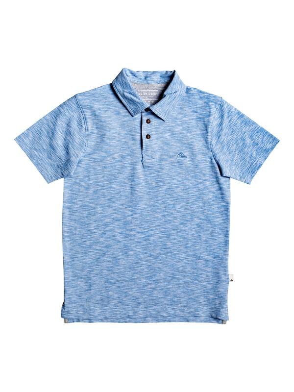 0 Boy's 8-16 Everyday Sun Cruise Short Sleeve Polo Shirt Blue EQBKT03236 Quiksilver