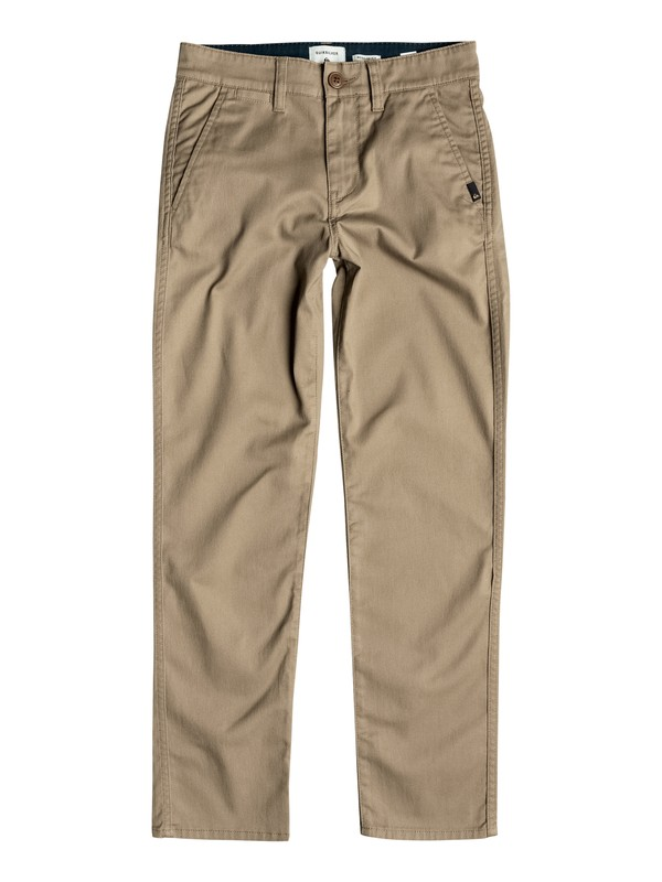 0 Boy's 8-16 Everyday Union Chinos Beige EQBNP03048 Quiksilver