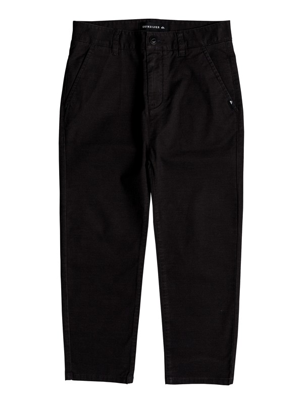 0 Omine - Pantalon longueur cheville pour Garçon 8-16 ans Noir EQBNP03069 Quiksilver