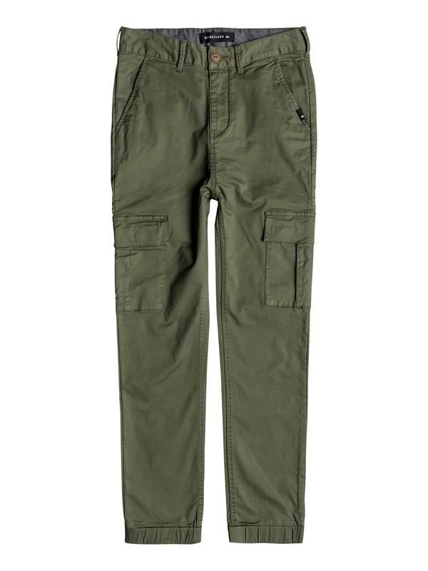 0 Takamatsu - Pantalon cargo slim pour Garçon 8-16 ans  EQBNP03070 Quiksilver
