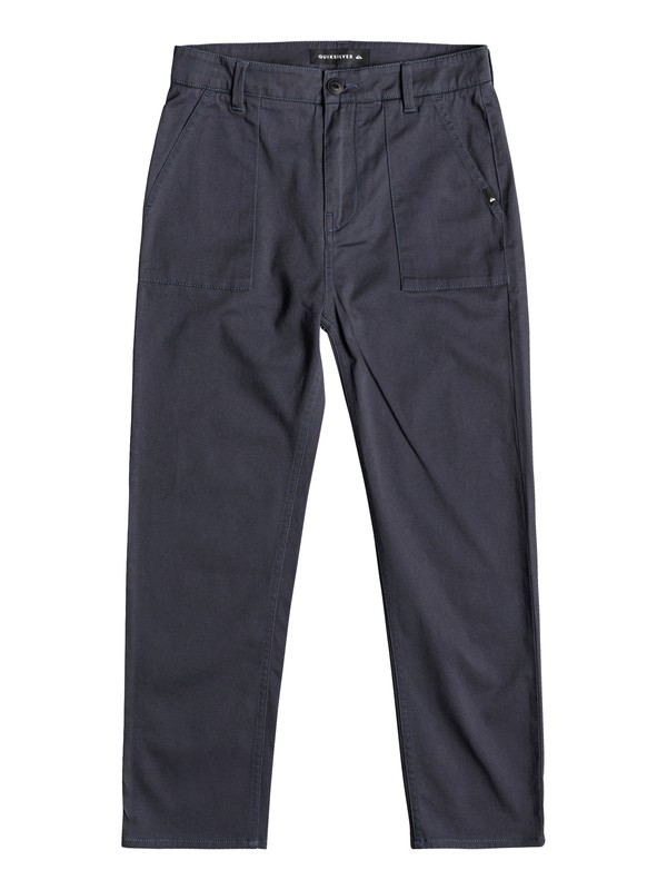 0 Mel Is Born - Cropped Trousers for Boys 8-16 Blue EQBNP03074 Quiksilver