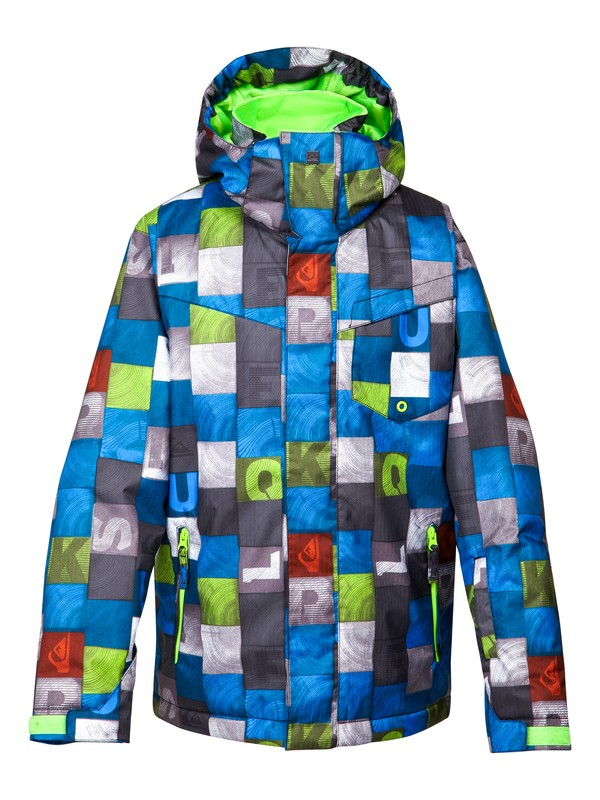 0 Mission Printed 10K Youth Jacket  EQBTJ00024 Quiksilver