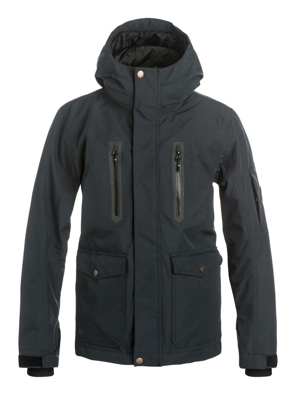 0 Dark And Stormy - Snow Jacket  EQBTJ03031 Quiksilver