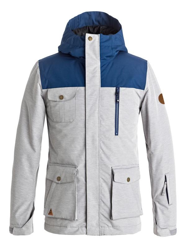 0 Raft - Snow Jacket for Boys 8-16 Black EQBTJ03056 Quiksilver