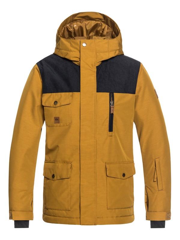 0 Raft - Parka Snow Jacket for Boys 8-16 Brown EQBTJ03073 Quiksilver