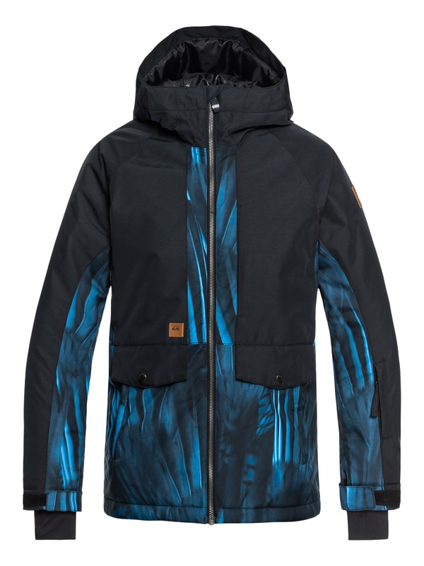 0 Boy's 8-16 Travis Ambition Snow Jacket Blue EQBTJ03074 Quiksilver