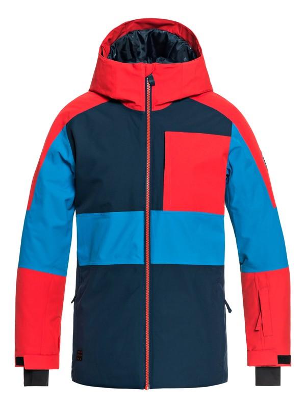 0 Boy's 8-16 Sycamore Snow Jacket Blue EQBTJ03075 Quiksilver