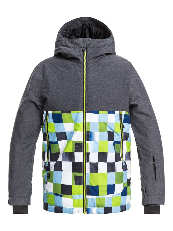 0 Sierra - Snow Jacket for Boys 8-16 Green EQBTJ03076 Quiksilver