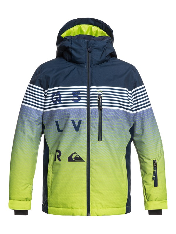0 Boy's 8-16 Mission Snow Jacket  EQBTJ03077 Quiksilver