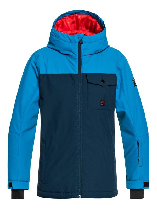 0 Boy's 8-16 Mission Snow Jacket  EQBTJ03078 Quiksilver