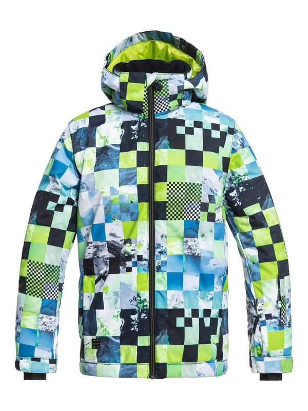 0 Mission - Snow Jacket for Boys 8-16 Green EQBTJ03079 Quiksilver