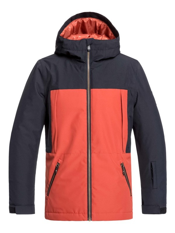 0 Boy's 8-16 Travis Rice Ambition Snow Jacket Black EQBTJ03092 Quiksilver