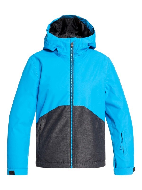 0 Boy's 8-16 Sierra Snow Jacket Blue EQBTJ03095 Quiksilver