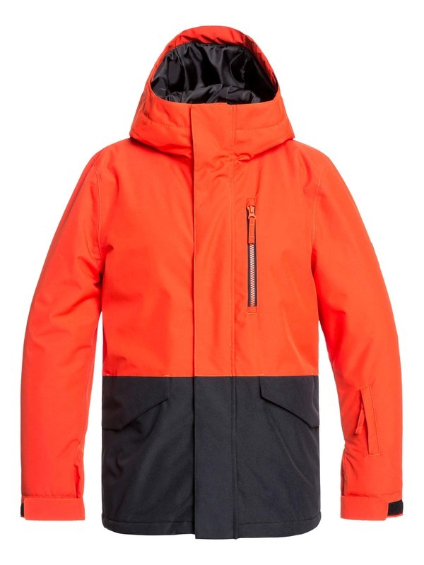 0 Mission - Snow Jacket Orange EQBTJ03099 Quiksilver