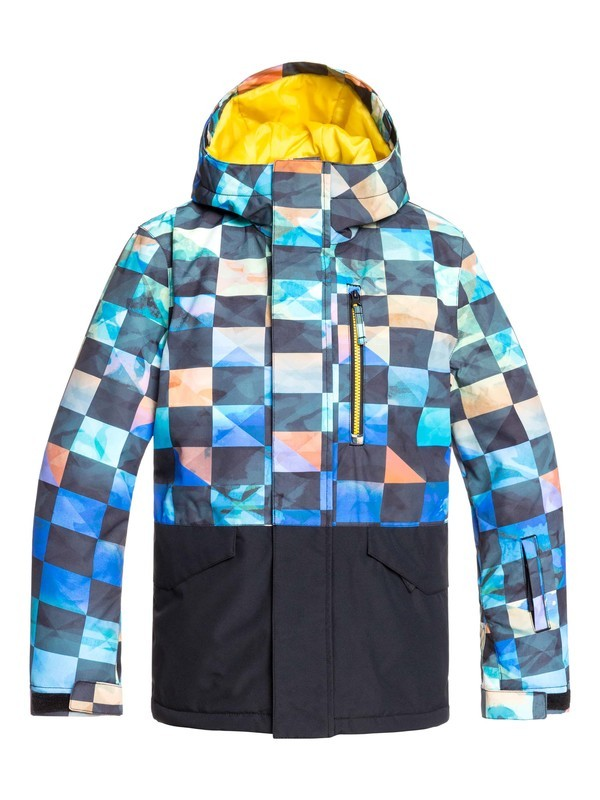 0 Mission Block - Snow Jacket Green EQBTJ03101 Quiksilver