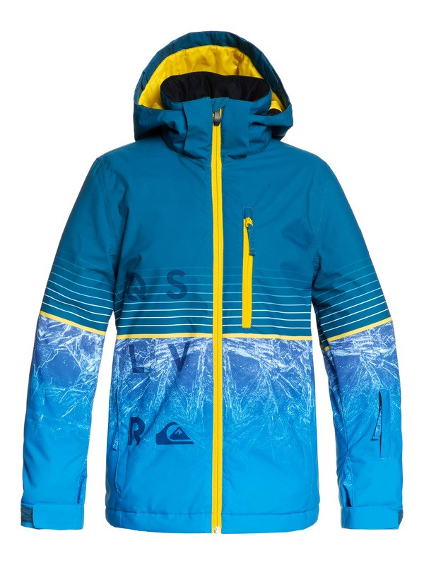 0 Silvertip Snow Jacket Blue EQBTJ03105 Quiksilver